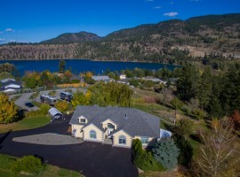 10 Acre Lake View Home with RV Park, Orchard and B&B Possibility